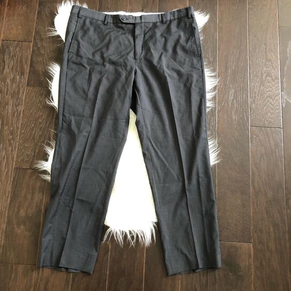e6063be7bb [Zanella] 100% Lana Wool Gray Pant Size 40